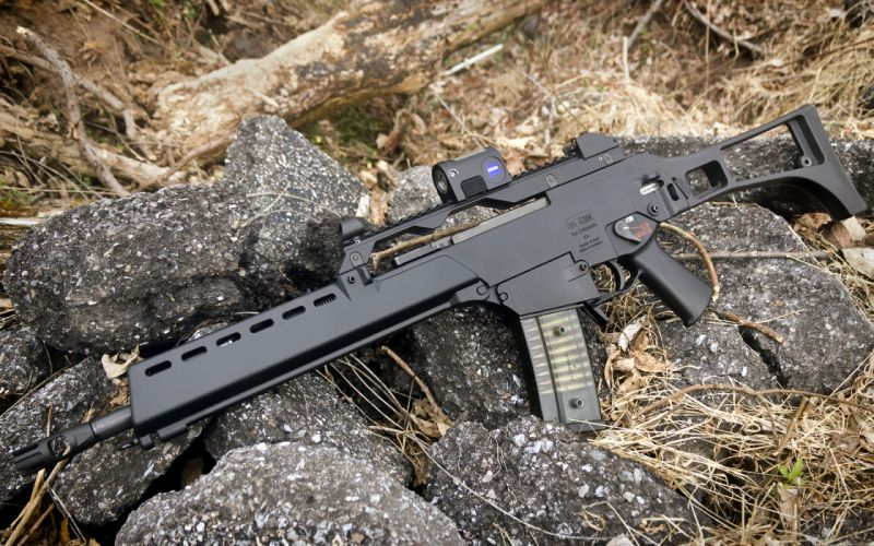 Heckler & Koch G36 weapon gun military rifle h wallpaper