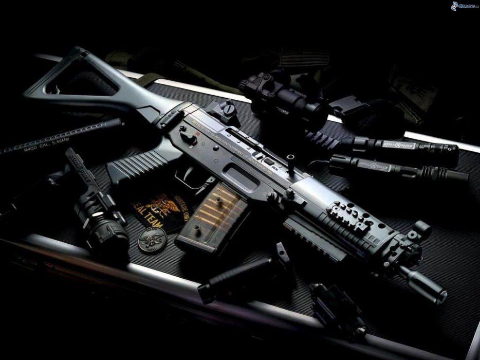Heckler & Koch G36 weapon gun military rifle  rh wallpaper