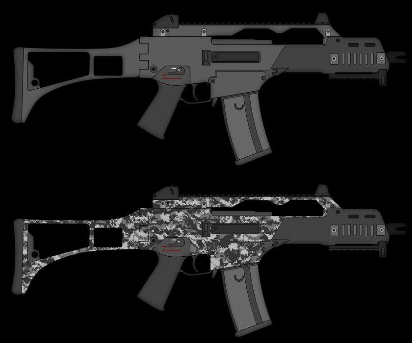 Heckler & Koch G36 weapon gun military rifle  rq wallpaper