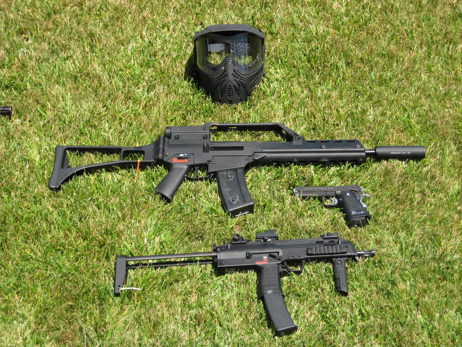 Heckler Koch G36 Weapon Gun Military Rifle Mp7 H Wallpaper