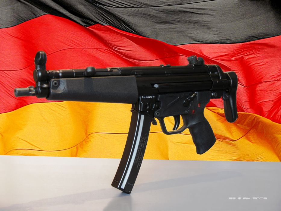 Heckler & Koch MP5 weapon gun military        f wallpaper