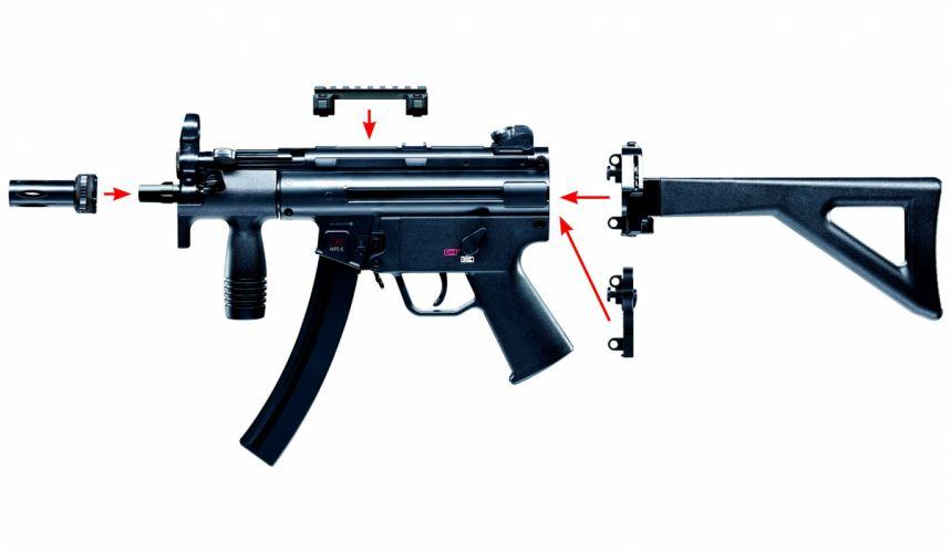 Heckler & Koch MP5 weapon gun military d wallpaper