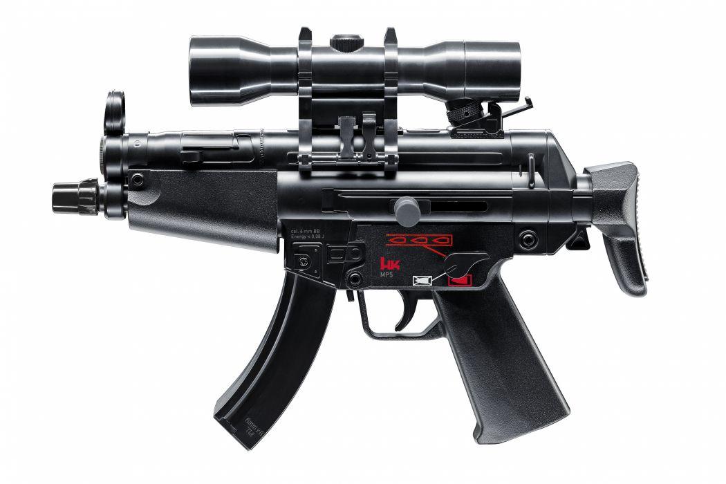Heckler & Koch MP5 weapon gun military     t wallpaper