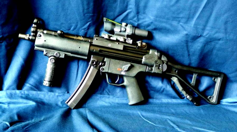 Heckler & Koch MP5 weapon gun military rifle gs wallpaper