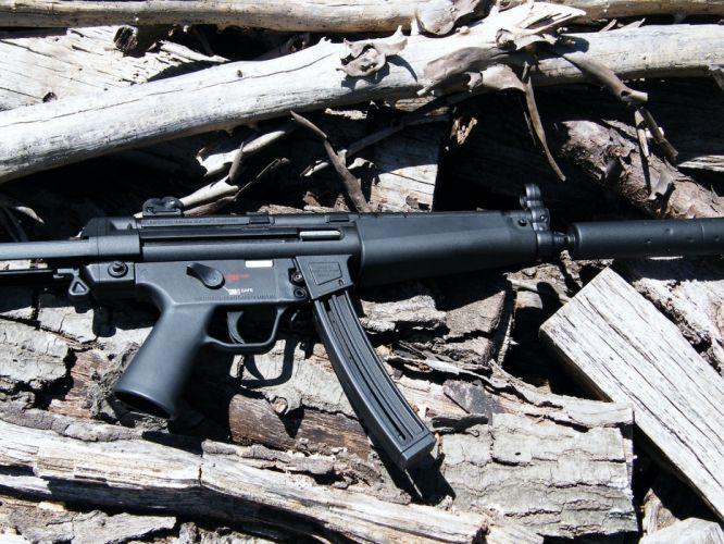 Heckler & Koch MP5 weapon gun military rifle g wallpaper