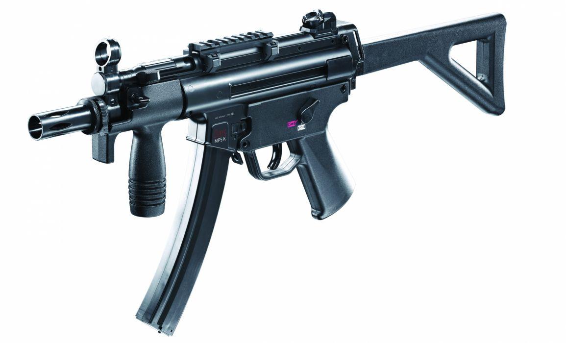 Heckler & Koch MP5 weapon gun military rifle    f wallpaper