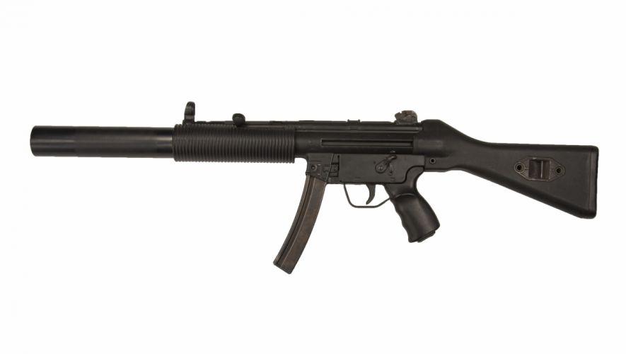 Heckler & Koch MP5 weapon gun military rifle d wallpaper