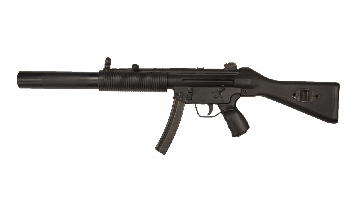 Heckler & Koch MP5 weapon gun military rifle d wallpaper