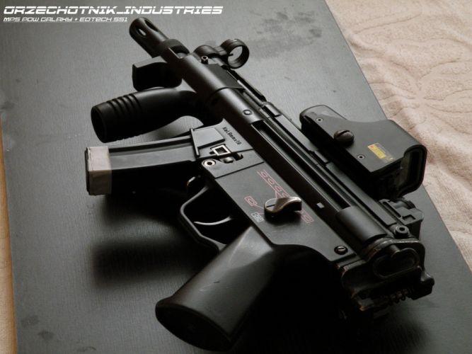 Heckler & Koch MP5A3 weapon gun military poster f wallpaper
