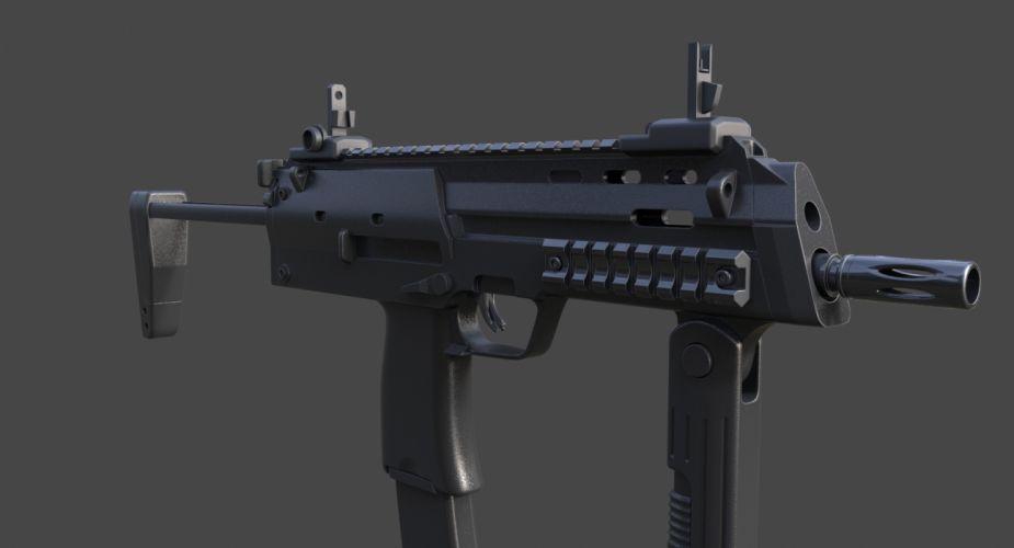 Heckler & Koch MP7 weapon gun military machine r wallpaper