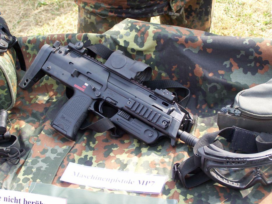 Heckler Koch Mp7 Weapon Gun Military Machine G Jpg