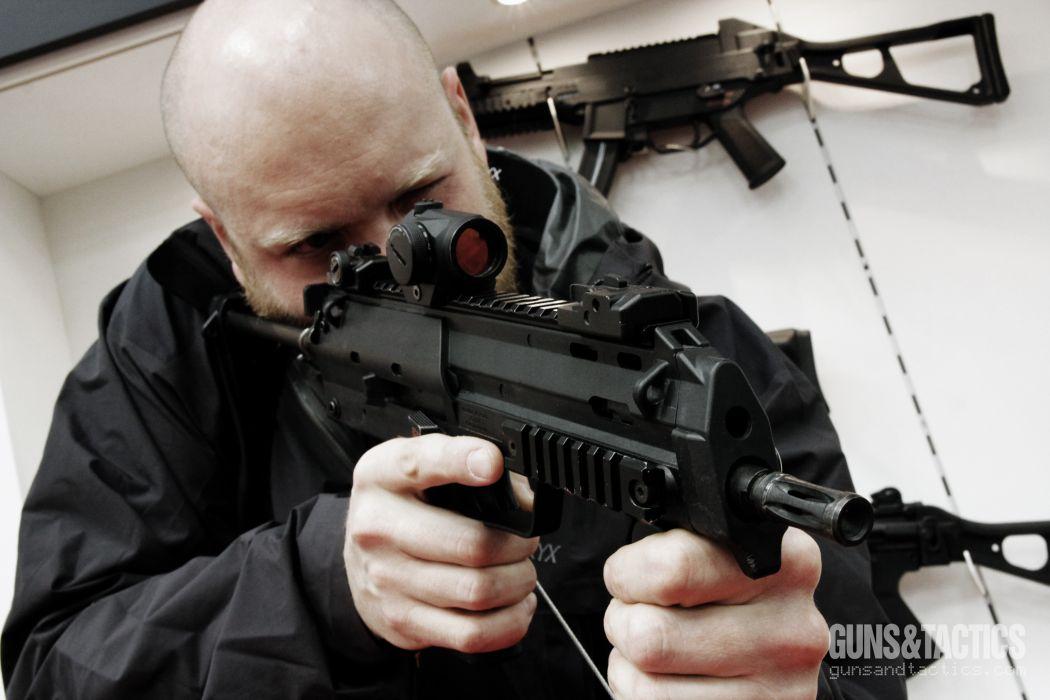 Heckler & Koch MP7 weapon gun military machine    f wallpaper