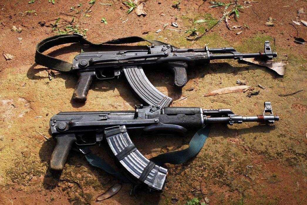 KALASHNIKOV AK-47 weapon gun military rifle      f wallpaper