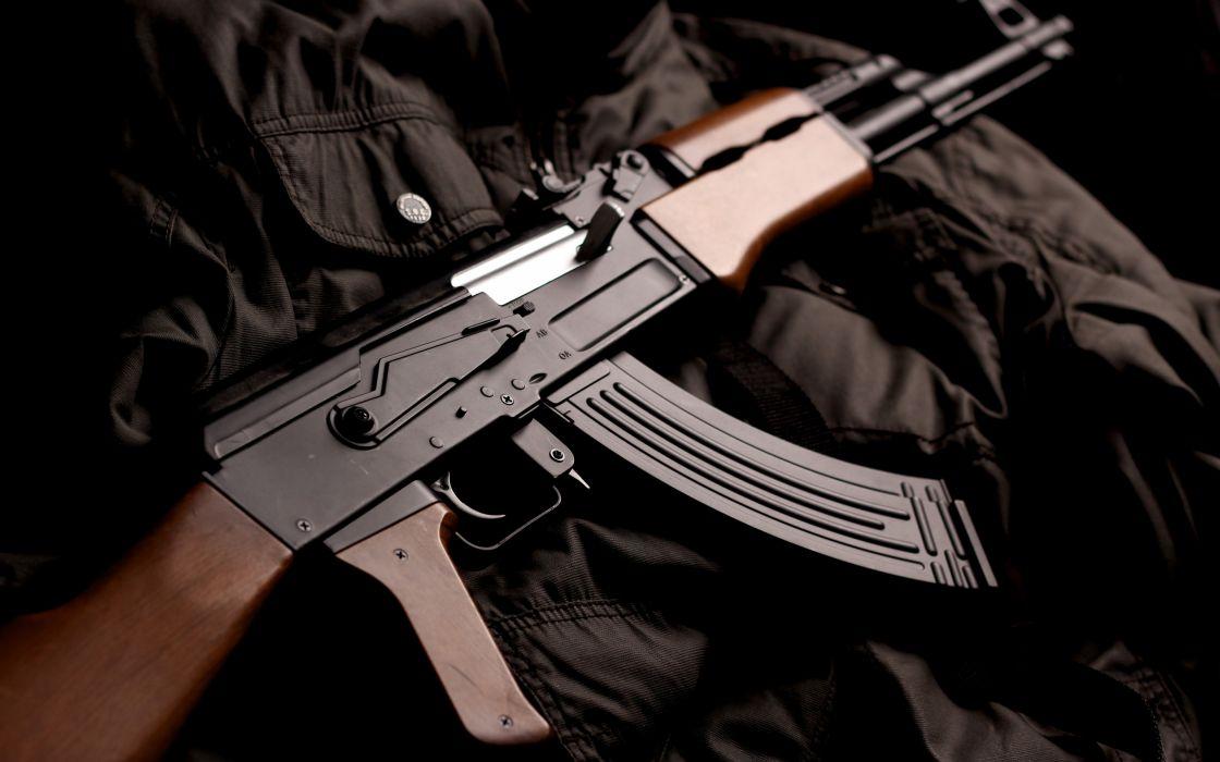 KALASHNIKOV AK-47 weapon gun military rifle     y wallpaper