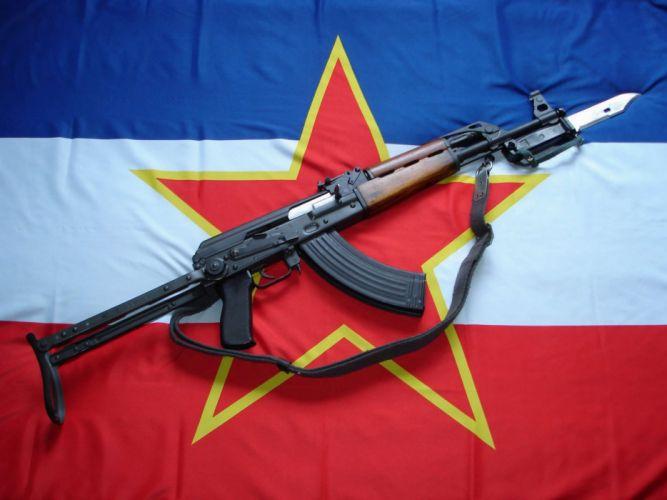 KALASHNIKOV AK-47 weapon gun military rifle ew wallpaper