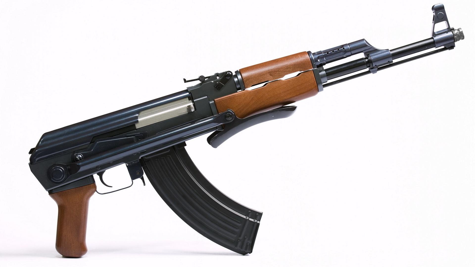 Kalashnikov Ak 47 Weapon Gun Military Rifle R Wallpaper 1920x1080