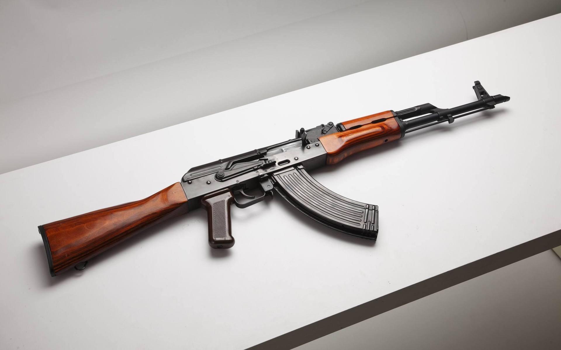 KALASHNIKOV AK 47 Weapon Gun Military Rifle Vc Wallpaper
