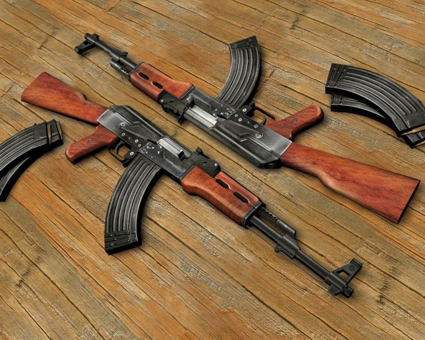 KALASHNIKOV AK-47 weapon gun military rifle  t wallpaper