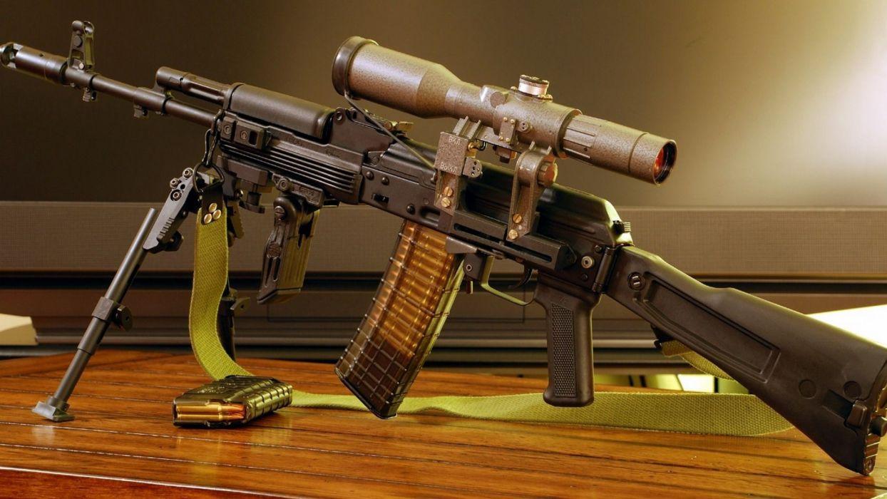 KALASHNIKOV AK-47 weapon gun military rifle ammo    h wallpaper