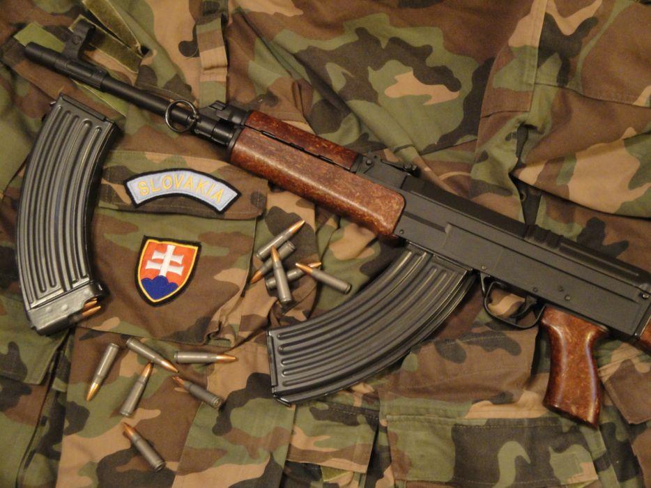 KALASHNIKOV AK-47 weapon gun military rifle ammo y wallpaper
