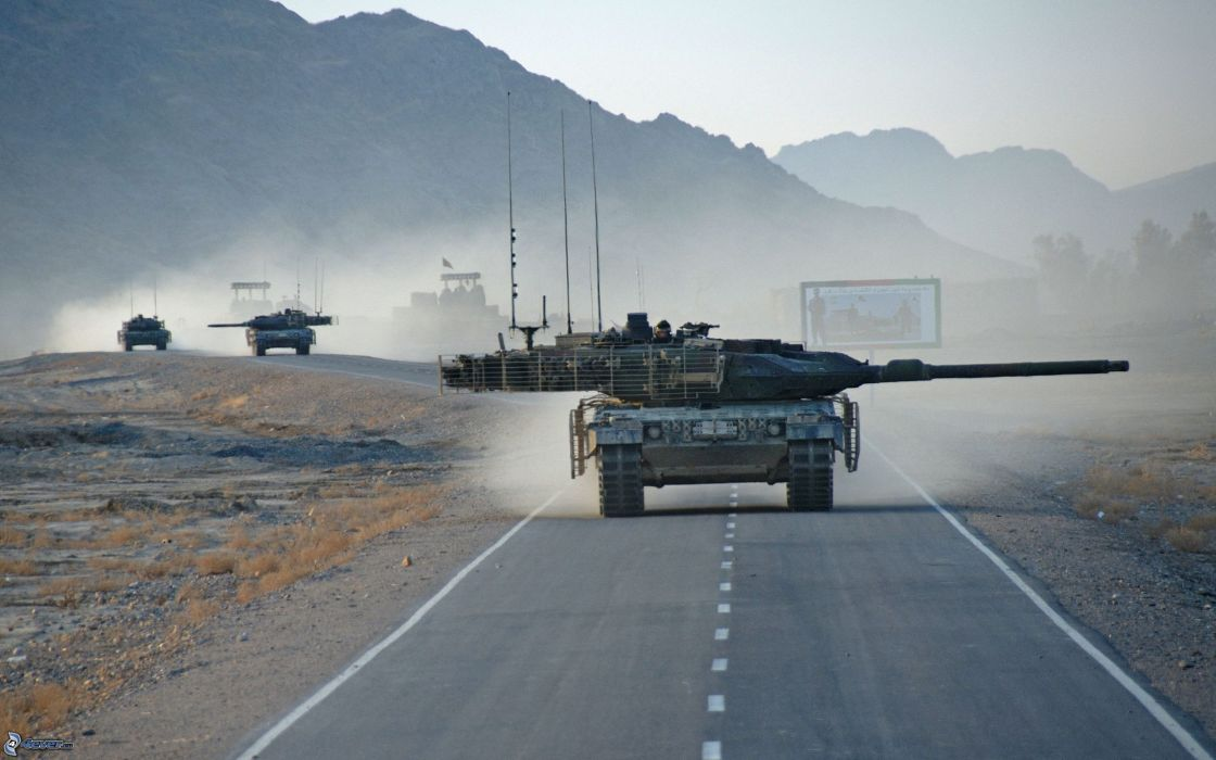 LEOPARD 2 TANK weapon military tanks leopard-2     dd wallpaper