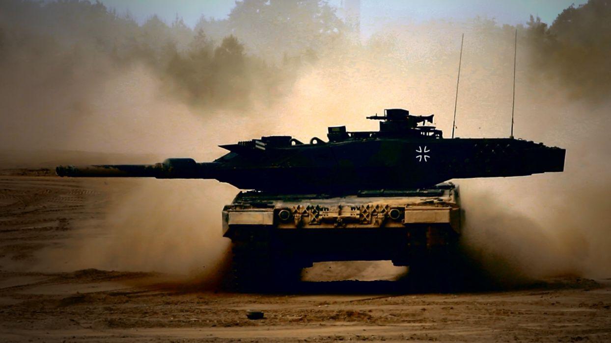 LEOPARD 2 TANK weapon military tanks leopard-2   d wallpaper