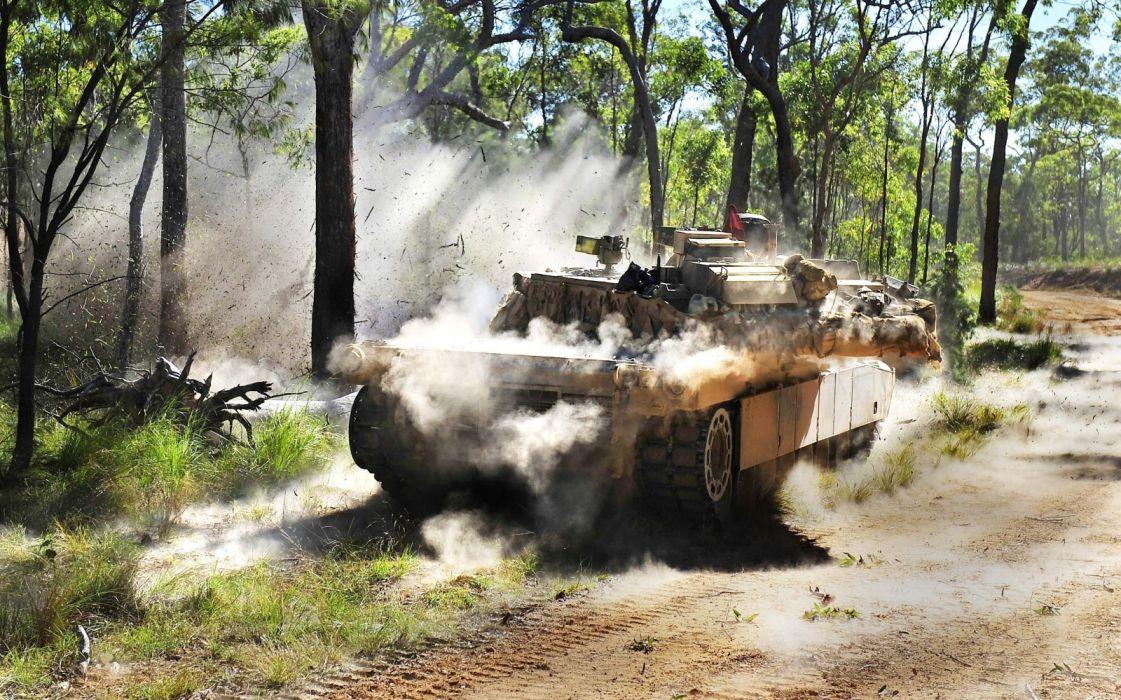 M1A1 ABRAMS TANK weapon military tanks    tw wallpaper
