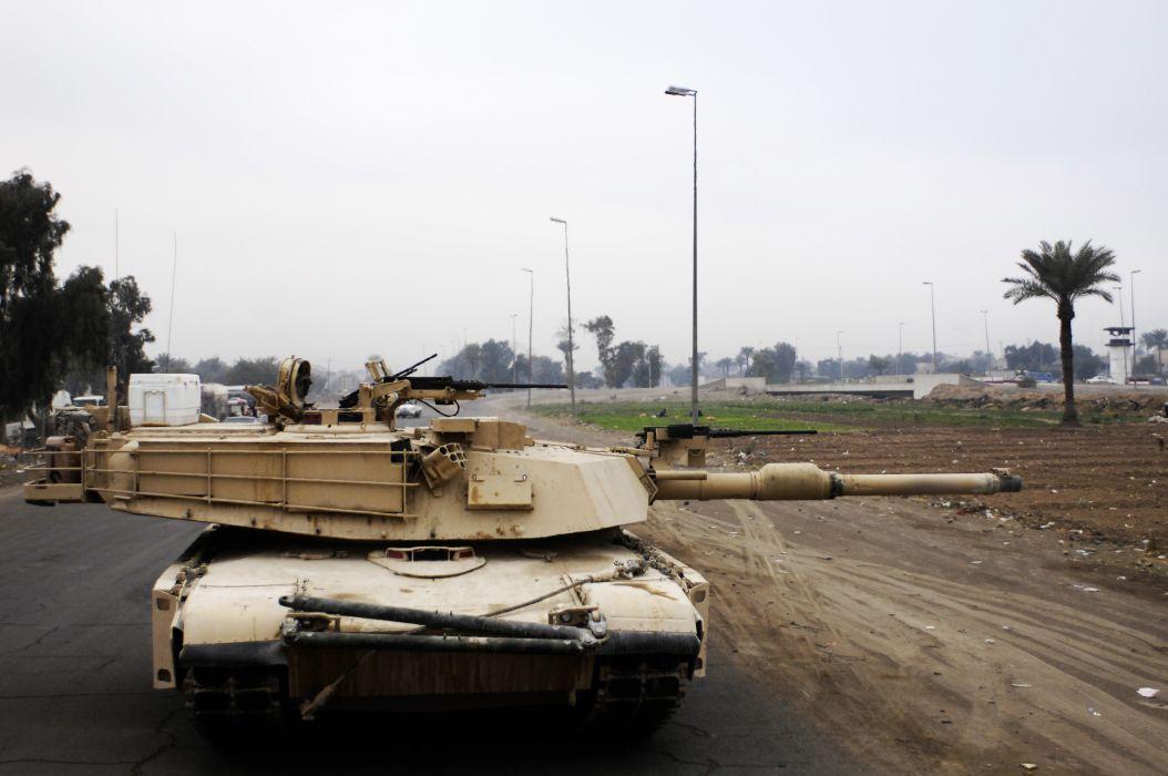 M1A1 ABRAMS TANK weapon military tanks    w wallpaper