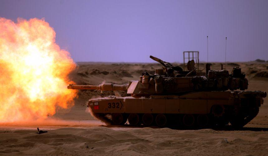 M1A1 ABRAMS TANK weapon military tanks fire f wallpaper