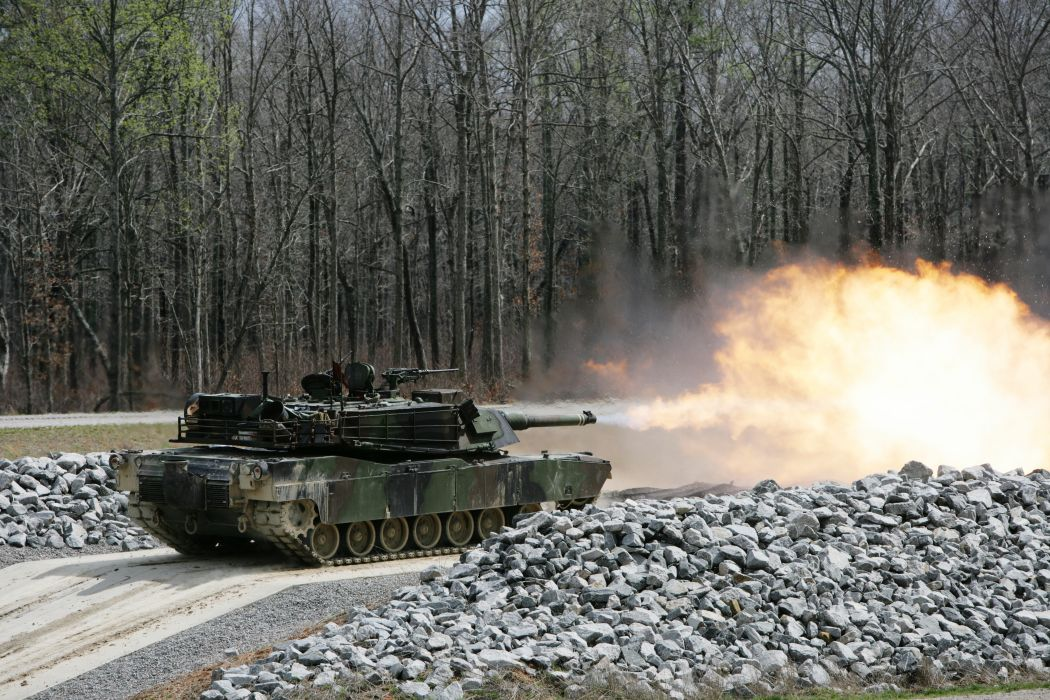M1A1 ABRAMS TANK weapon military tanks fire   f_JPG wallpaper