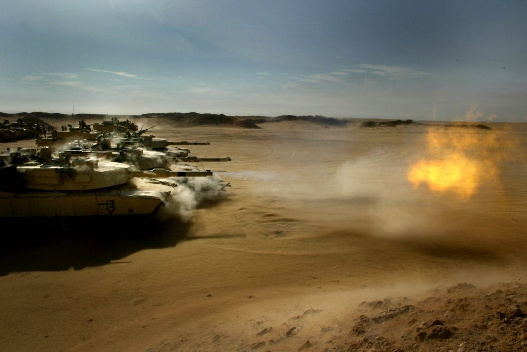 M1A1 ABRAMS TANK weapon military tanks fire   s wallpaper