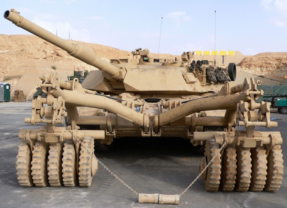 M1A1 ABRAMS TANK weapon military tanks minesweeper     f wallpaper
