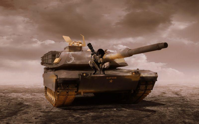 M1A1 ABRAMS TANK weapon military tanks movies tank girl g wallpaper