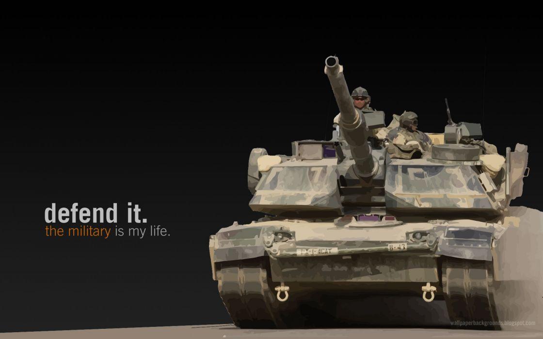 M1A1 ABRAMS TANK weapon military tanks poster text      d wallpaper