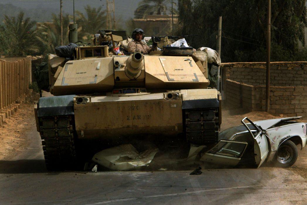 M1A1 ABRAMS TANK weapon military tanks soldier     d wallpaper