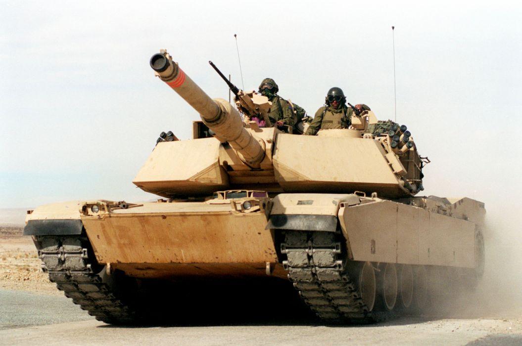 M1A1 ABRAMS TANK weapon military tanks soldier  f wallpaper