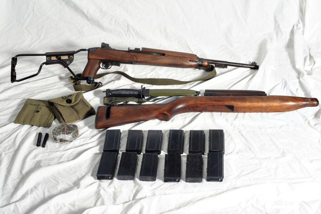 M1A1 CARBINE rifle weapon gun military     g_JPG wallpaper