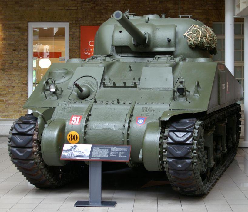 M-4 SHERMAN TANK weapon military tanks retro          f wallpaper