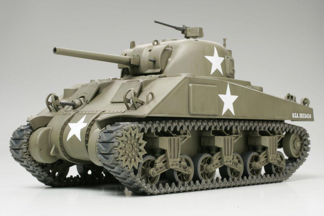 M-4 SHERMAN TANK weapon military tanks retro     hs wallpaper