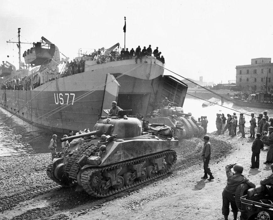 M-4 SHERMAN TANK weapon military tanks retro soldier      fd wallpaper