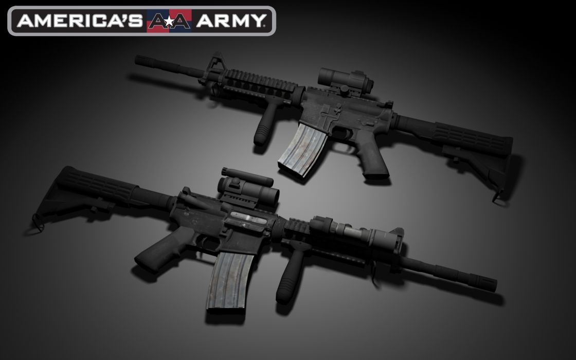 M4A1 weapon gun military rifle police     y wallpaper
