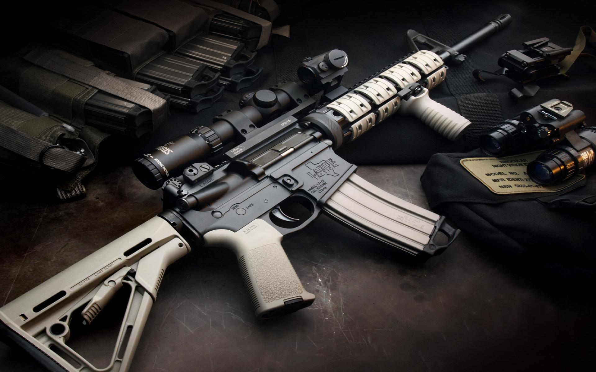 M4A1 weapon gun military rifle police f wallpaper ...