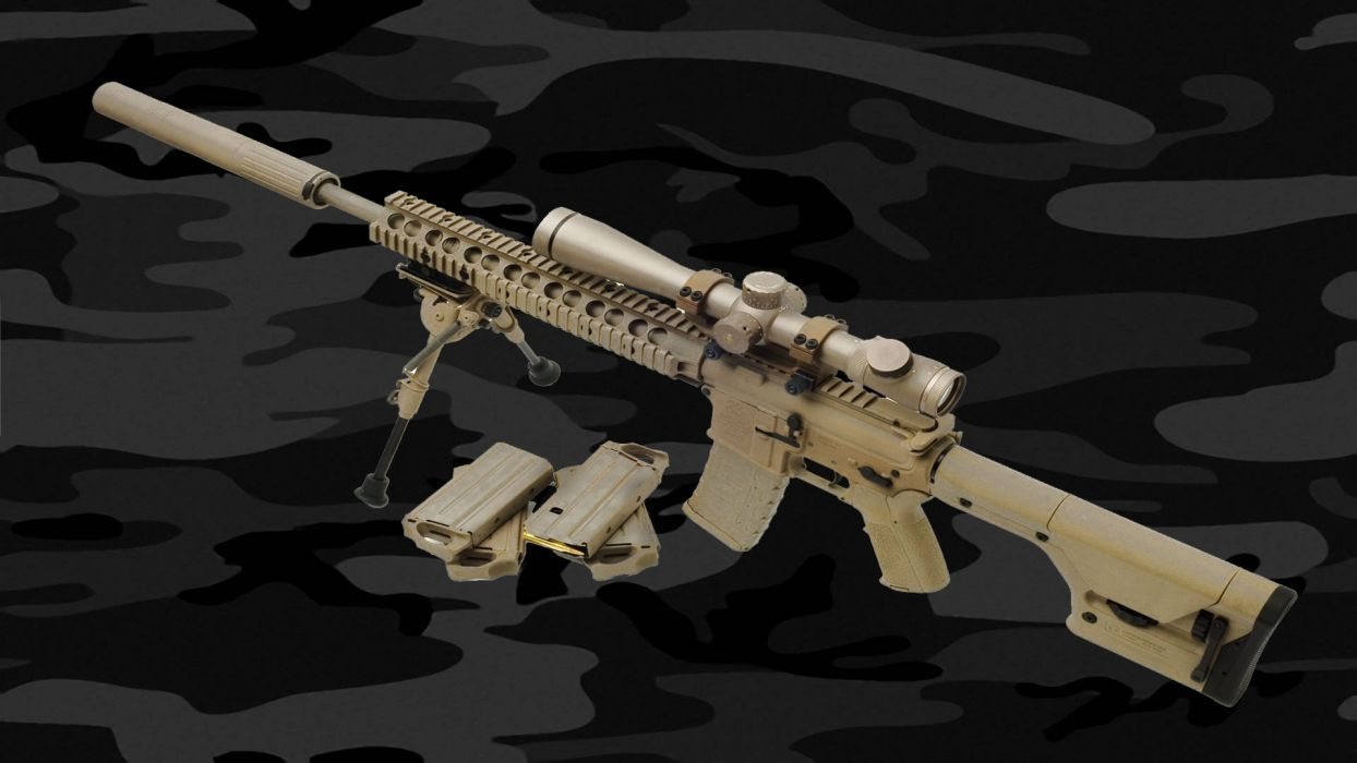 M4A1 weapon gun military rifle police ammo    d wallpaper