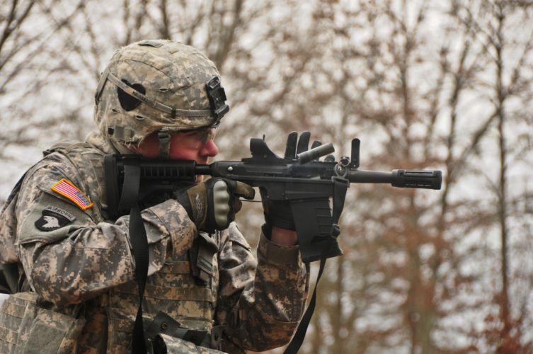 M26 Modular Accessory Shotgun System weapon gun military soldier g wallpaper