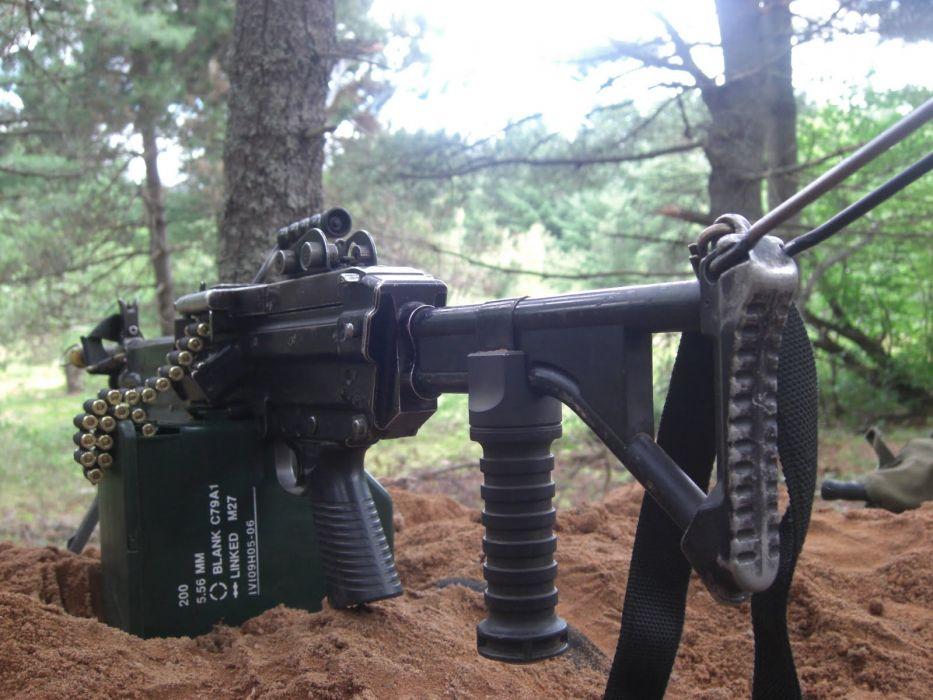 M60 MACHINE GUN military rifle weapon     f wallpaper