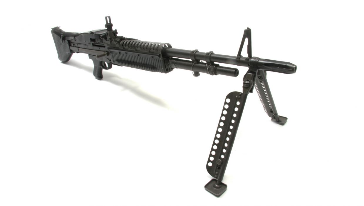 M60 MACHINE GUN military rifle weapon    g wallpaper