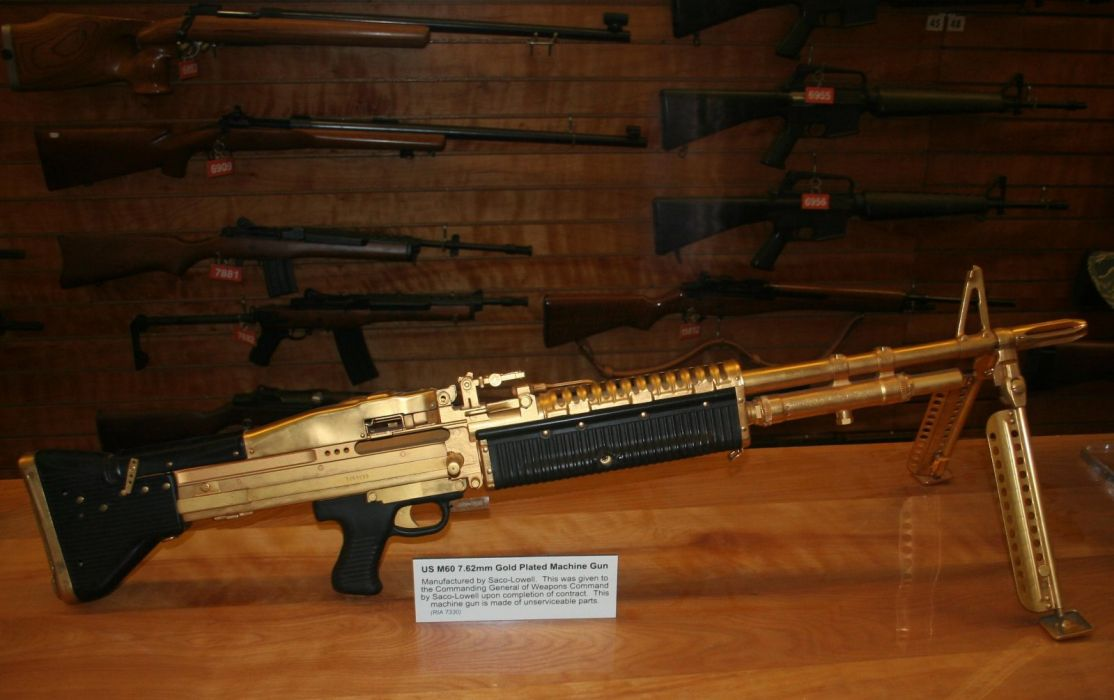 M60 MACHINE GUN military rifle weapon    t wallpaper