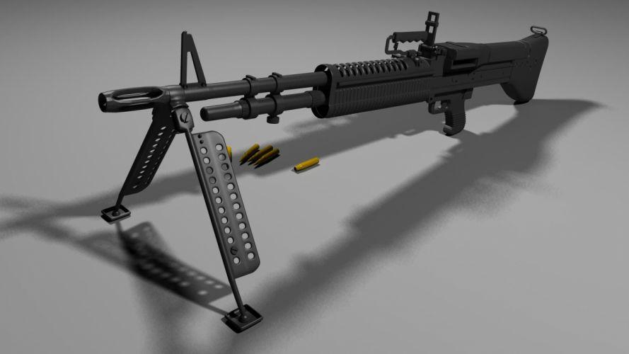 M60 MACHINE GUN military rifle weapon ge wallpaper