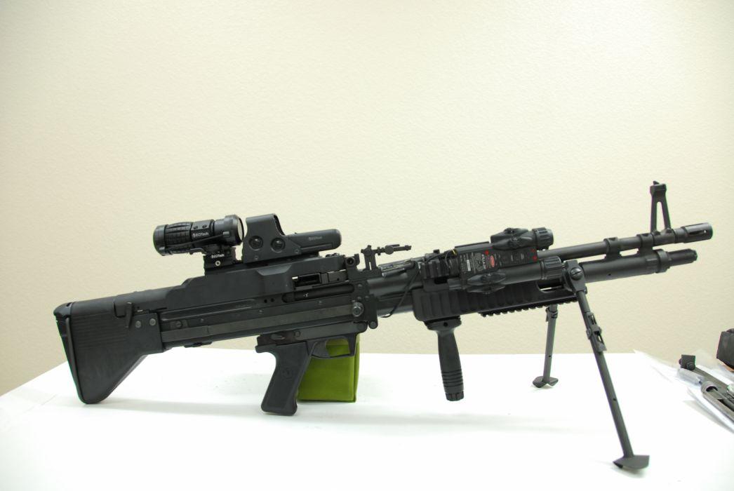 M60 MACHINE GUN military rifle weapon mk43      g wallpaper