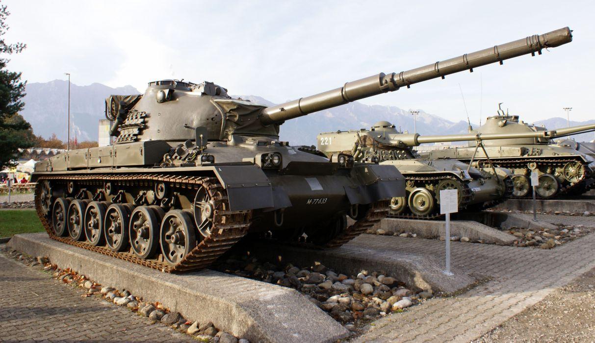 PANZER TANK weapon military tanks retro          h wallpaper
